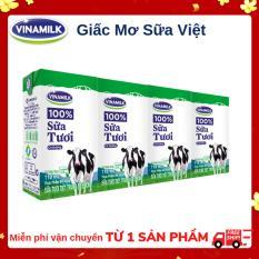Thùng 48 hộp sữa tươi Vinamilk 100% có đường 110ml
