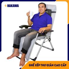 [ BẢO HÀNH 25 NĂM ] Ghế xếp thư giãn HAKAWA Nhật Bản HK-G20T – Trọng Tải 300kg – Thay miễn phí phụ kiện nệm và lưới trong 5 NĂM – Dành cho người lớn tuổi,hoặc các bệnh nhân mắc bệnh Xương khớp