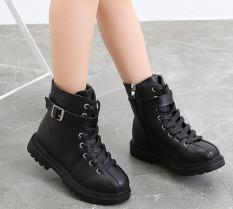 Giày Boot Da cho bé gái size 27 – 37 gái phong cách cá tính – B90