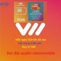 Siêu thánh sim UP- 4G VNMB miễn phí max 5GB data mỗi ngày-0 đ-CK