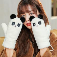 Găng tay len lông cừu họa tiết dễ thương