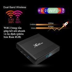 Android TV Box X96 Air – Amlogic S905X3, 4GB Ram, Rom 32GB, Android 9, Wifi 2 băng tần, Bluetooth 4.1, mạnh mẽ, đa năng