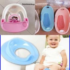 Combo 3 món: ghế ăn dặm chậu tắm thu nhỏ bồn cầu cho bé cam kết sản phẩm đúng mô tả chất lượng đảm bảo an toàn đến sức khỏe người sử dụng