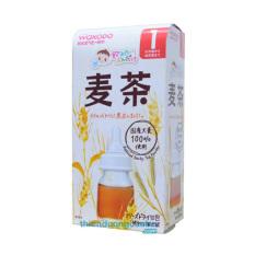Trà lúa mạch Wakodo cho bé 1 tháng, trà thanh nhiệt, hỗ trợ tiêu hóa, giảm nhiệt miệng, nóng nảy