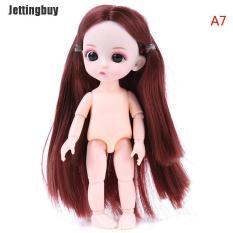 JettingBuy búp bê mini dễ thương cao 16cm, 13 búp bê em bé có thể di chuyển được – INTL