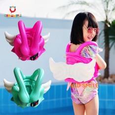 Phao bơi trẻ em hình đôi cánh thiên nga, phao bơi đỡ lưng an toàn, bền đẹp, chắc chắn cho bé size từ 2 đến 8 tuổi