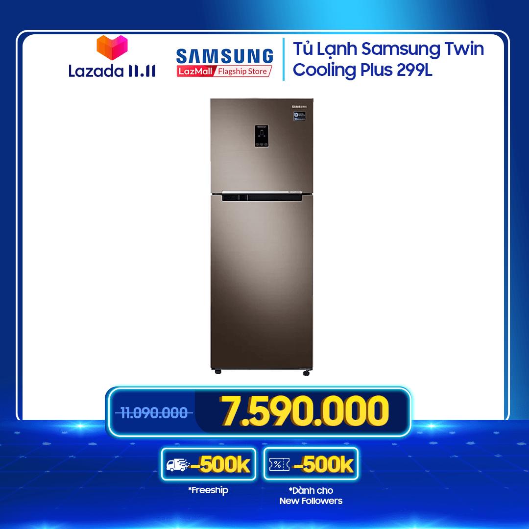 Tủ lạnh Samsung Twin Cooling Plus 299L – RT29K5532DX