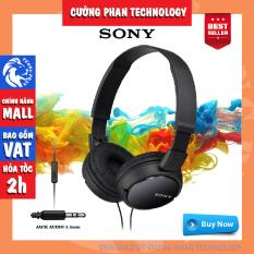 Tai Nghe Chụp Tai Có Mic Sony ZX110AP – Sản phẩm bảo hành 12 tháng ( bằng phiếu bảo hành và hóa đơn)