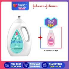 Sữa tắm chứa sữa và gạo Johnsons Milk & Rice bath 1000ml – Giới hạn 3 sản phẩm/khách hàng