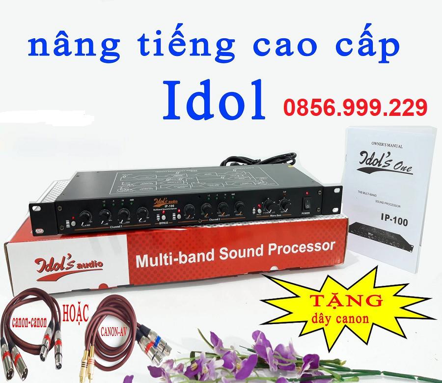 nâng tiếng cao cấp Idol IP100 + TẶNG dây canon