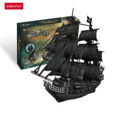 Mô hình giấy Cubic Fun Tàu Queen Anne's Revenge – T4018