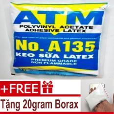 Keo sữa ATM – 1KG – Tặng 20gram Borax – Nguyên liệu làm slime