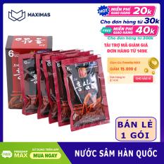 Nước sâm Hàn Quốc Pocheon 1 gói dùng thử – Hồng Sâm Maximas