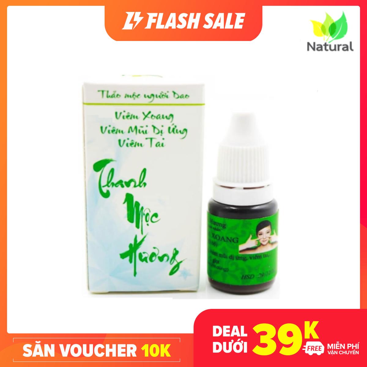 [TOP1 BÁN CHẠY] Viêm xoang viêm mũi dị ứng từ thảo dược tự nhiên Thanh Mộc Hương – Hàng Chính Hãng