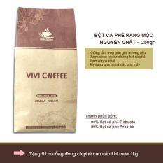 Cà phê rang xay nguyên chất 100% – 250gr