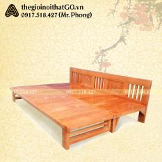 Giường gỗ gấp thành ghế