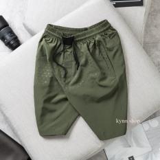 Quần short đùi nam thể thao 45-85kg, chất gió mịn mềm mại cao cấp, túi kéo khoá 2 bên tiện lợi 5 màu sắc lựa chọn