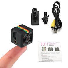 Camera giám sát, Camera hành trình xe máy full HD 1080, camera hành trình mini giá rẻ SQ11 (Đen) AD123
