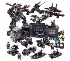 Lego xếp hình Black Eagle Warfare, Đồ Chơi Cho Bé, Đồ Chơi Tư Duy, Đồ Chơi Lắp Ráp, Đồ Chơi Xếp Hình