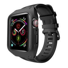 dây đồng hồ Apple Watch, dây cao su kèm ốp chống sốc cao cấp cho Apple Watch
