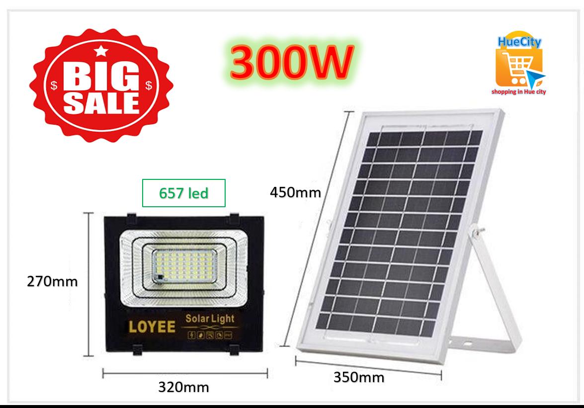 Đèn led năng lượng mặt trời LOYEE 50W, 85W, 100W, 200W, 300W…