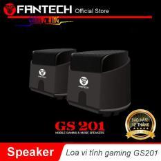 Loa vi tính gaming siêu gọn nhẹ Fantech GS201