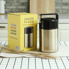 Bình giữ nhiệt ủ cháo inox 800ml, 1000ml (giữ nhiệt lên đến 16 tiếng, Inox 304 chống rỉ set)