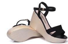 Giày sandal 2 quai ngang đế xuồng hở gót 9p CG-0194