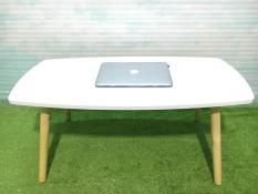 BSF – Bàn chữ nhật trắng chân gập phòng khách 100x50x45, bàn sofa, bàn trà, bàn coffee, bàn gỗ, bàn cafe, bàn cà phê