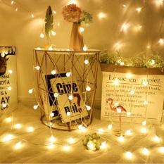 [Dùng cổng USB] Đèn LED Trang Trí Bóng Tròn Cherry Ball Sử Dụng Cổng USB 5v dùng Trang Trí Phòng ngủ, Phòng khách, Sân vườn, Ngoài trời, Nhà Cửa, Noel, Lễ Tết | Kyto Shop