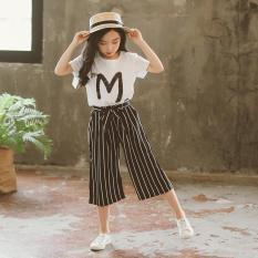 Set bé gái hình chữ M phong cách Jennie Kids J231