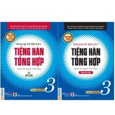 Combo Tiếng Hàn Tổng Hợp Dành Cho Người Việt Nam – Trung cấp 3 – Bản 4 Màu