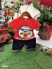 Set áo thun quần jean cho bé trai (8-15kg)