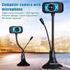 Webcam 720P HD siêu nét Micro đàm thoại để làm việc & học tập trực
