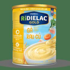 BỘT ĂN DẶM RIDIELAC GOLD GÀ RAU CỦ – HỘP THIẾC 350G