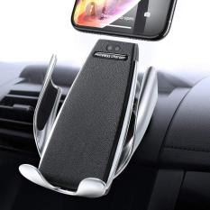 Giá đỡ điện thoại kiêm sạc không dây tự động điều chỉnh.