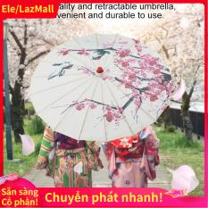 Kích thước nhỏ Làm bằng tay giấy Trung Quốc Ô dù Nghệ thuật Cổ điển Nhảy Ô Mận Hoa