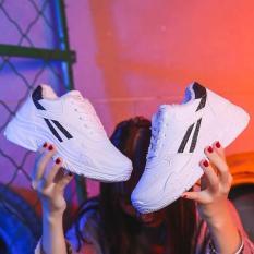 giày thể thao 2 vạch kim tuyến đen mẫu hot 2018
