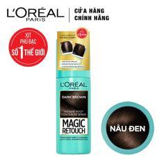 Xịt nhuộm tóc phủ bạc tạm thời L'Oreal Paris Magic Retouch 75ml