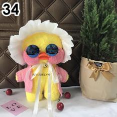 Vịt Nhồi Bông Má Hồng Lalafanfan Siêu Cute Quà Tặng Sinh Nhật, Giáng Sinh, Valentine size 30cm PK08