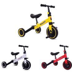 Xe đạp cao cấp với bánh xe kép phía sau mầu trắng