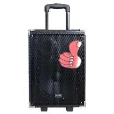 (Tặng 1 mic không dây) LOA KÉO KARAOKE BLUETOOTH Q8- Loa kéo di động bluetooth Karaoke Q8 KIOMIC – Hát siêu hay âm thanh cực đỉnh – Tặng kèm mic bluetooth