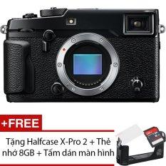 Fujifilm X-Pro 2 24.2MP Body (Đen) + Tặng 1 Halfcase X-Pro 2 , 1 Thẻ nhớ 8GB , 1 Tấm dán màn hình