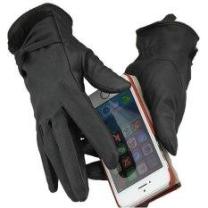 Găng tay nữ da PU cảm ứng size M
