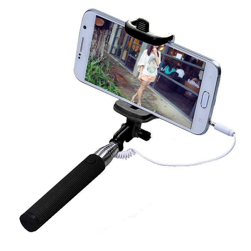 Gậy chụp hình Selfie Stick xoay 270 độ (Đen)