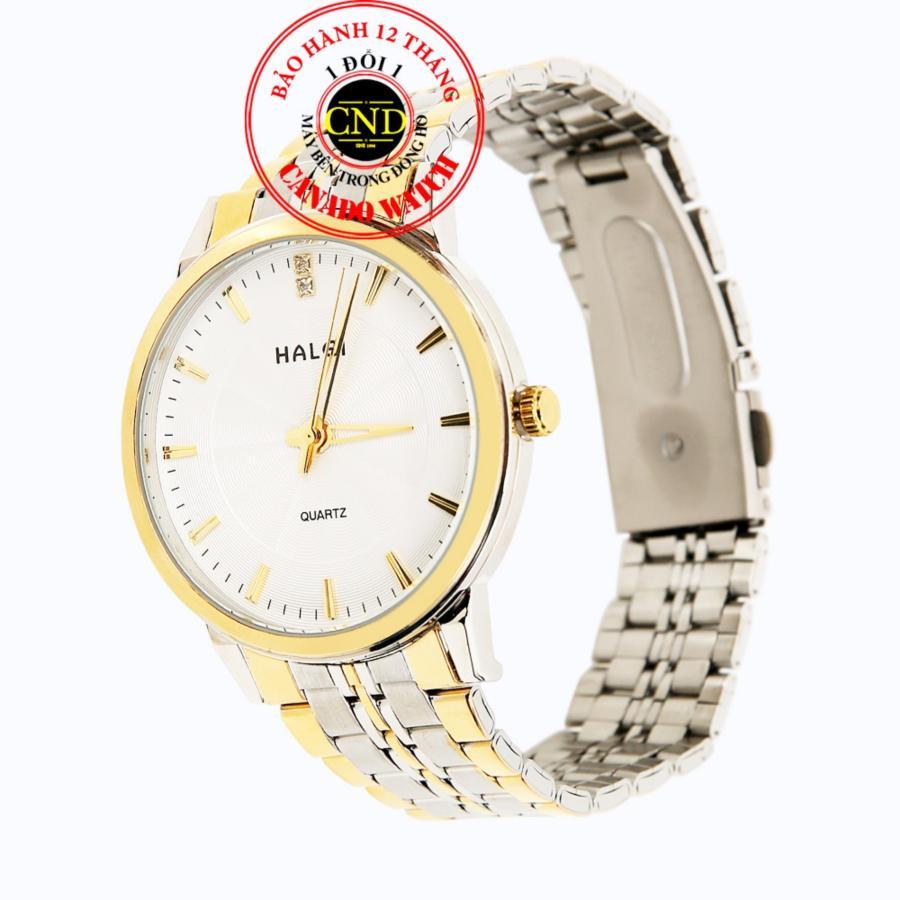 Đồng hồ nam dây thép Halei HL552 Mặt Kính Saphia Chống Xước Chống Nước