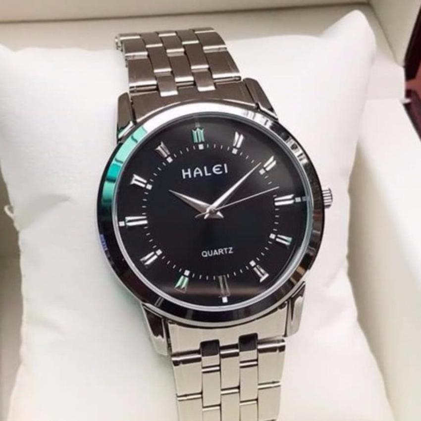 Vì sao mua Đồng hồ nam Halei HL168 cao cấp mặt màu đen chống nước