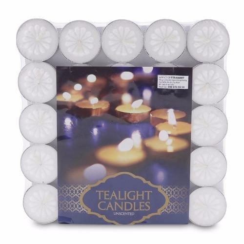 Vì sao mua Hộp 100 nến tealight bông mai NYCandle FtraMart (Trắng)