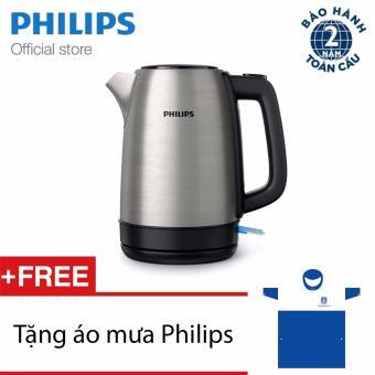 Bình đun nước Philips HD9350/90 TẶNG Áo mưa Philips - Hàng phân phối chính thức