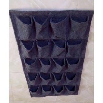 Túi vải trồng rau trong túi vải 21 ngăn